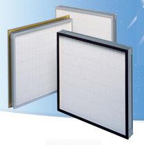 Filtro de aire / de panel / plisado / compacto
