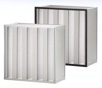 Filtro de aire / de panel / con minipliegues / de gran capacidad