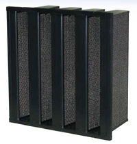 Filtro de aire / de panel / anticorrosión / para instalación de calefacción, ventilación y aire acondicionado