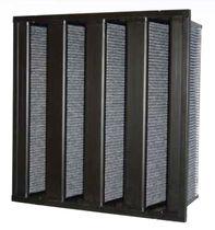 Filtro de aire / de carbón activado / plisado / de alto rendimiento