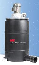Lavador de gases en seco / con lecho relleno / químico / compacto