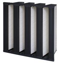 Filtro de aire / de panel / plisado / de alto rendimiento
