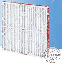 Filtro de aire / de panel / plisado / de gran capacidad