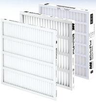 Filtro de aire / de panel / plisado / para aplicaciones farmacéuticas