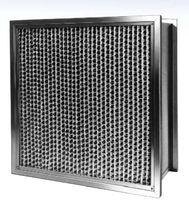 Filtro de aire / de panel / plisado / para entornos severos