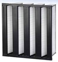Filtro de aire / de panel / para entornos severos / desempolvadoras