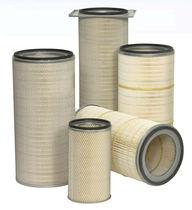 Cartucho filtrante de aire / desempolvadoras / de poliéster / para turbina de gas