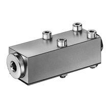 Válvula de retención de bolas / manifold / de control asistido