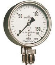 Manómetro analógico / diferencial / de cápsula / de proceso