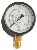 Manómetro de tubo Bourdon / diferencial / analógico / de proceso