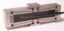 Platina de posicionamiento lineal / piezoeléctrica / de 2 ejes / de carrera larga