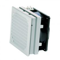 Ventilador con filtro / axial / de circulación de aire / AC