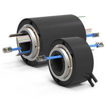 Anillo colector eléctrico / vía Ethernet / Gigabit Ethernet / de eje hueco