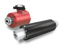 Racor giratorio hidráulico / para aceite / de pasos múltiplos