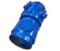 Racor giratorio para gas / de 6 pasos / hidráulico / a medida