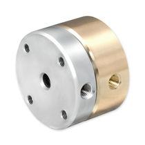 Racor giratorio para gas / de pasos múltiplos / neumático / de acero inoxidable