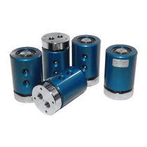 Racor giratorio para gas / de 2 pasos / para mesa rotativa / de aluminio