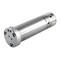 Racor giratorio para gas / de 2 pasos / de montaje en eje