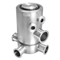 Racor giratorio para aceite / para gas / de 3 pasos / de acero inoxidable