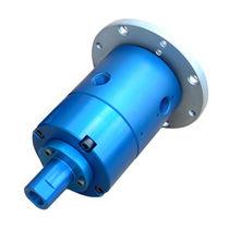 Racor giratorio para aceite / para gas / de 3 pasos / hidráulico
