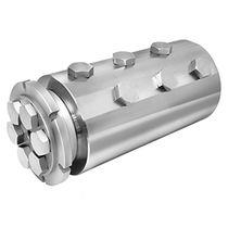 Racor giratorio para productos químicos / de 6 pasos / para aplicaciones offshore / de acero inoxidable