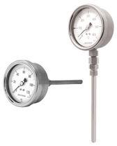 Termómetro bimetálico / analógico / de inserción / de esfera