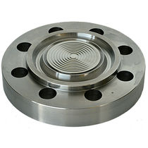 Separador de membrana con a fijación por brida / para manómetro