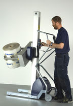 Aparato de levantamiento para rollos / para enrollador / con asidero / con batería