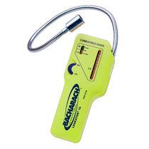 Detector de fugas de gas / por aspiración / portátil / con alarma visual