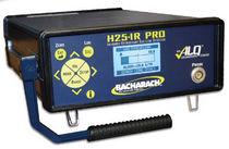 Detector de fugas de gases refrigerantes / de infrarrojos / con visualizador digital