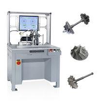 Máquina equilibradora horizontal / de arrastre por correa / para turbocompresor / de alta precisión