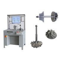 Máquina equilibradora horizontal / de arrastre por correa / para turbocompresor / para rueda de turbina
