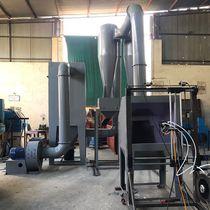 Cabina de pintura abierta / con filtro / para metalización