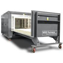 Horno tratamiento térmico / de solera móvil / resistencia eléctrica / en atmósfera controlada