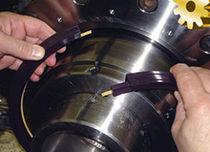 Junta v-ring / de varilla / de polímero / para ejes rotativos