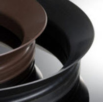 Junta circular / de labio / de PTFE / para ejes rotativos