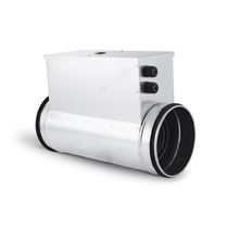 Calefactor de conductos / de aire / eléctrico