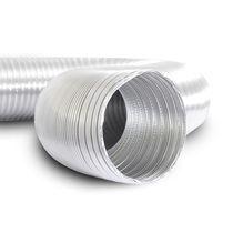 Conducto de aire flexible / de aluminio / de alta temperatura / para sistema de ventilación