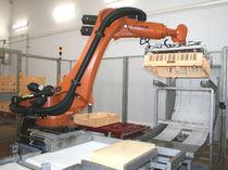 Paletizador-despaletizador robotizado / de queso / de cajas / automático