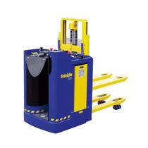 Apiladora eléctrica / para conductor de pie / robusta / para de alta elevación
