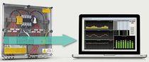 Caja para montaje en paneles / rectangular / para aplicaciones fotovoltaicas / para instrumentación