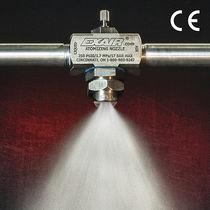 Boquilla de atomización de pulverización / de chorro plano / de aire comprimido / para líquido