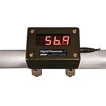 Caudalímetro de rotor / para aire comprimido / digital / clamp-on