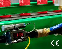 Caudalímetro másico / térmico / para gas / en tubo de medición