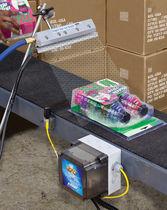 Lámina de aire ionizado para operaciones de soplado