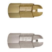 Boquilla de cono lleno / de aire / con amplificación de caudal / de salida