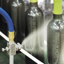 Boquilla de pulverización / de chorro plano / de aire comprimido / de acero inoxidable