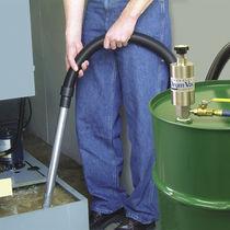 Bomba para aguas residuales / neumática / semisumergible / de caña