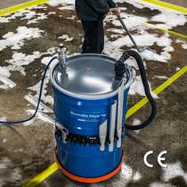 Aspirador para barriles / de líquidos / neumático / industrial