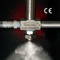 Boquilla de atomización de pulverización / para líquido / con sifón de alimentación